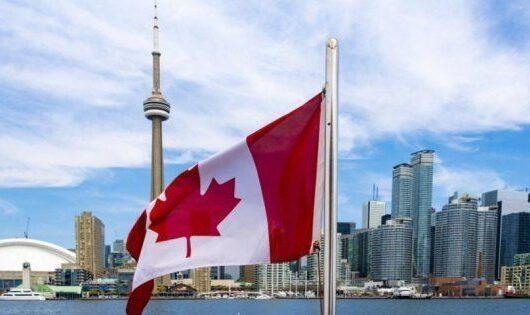 Canada y bandera